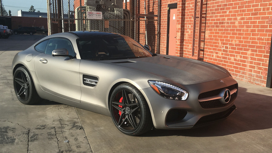 2016 Mercedes AMG GT S (and 2016 Jaguar F Type)