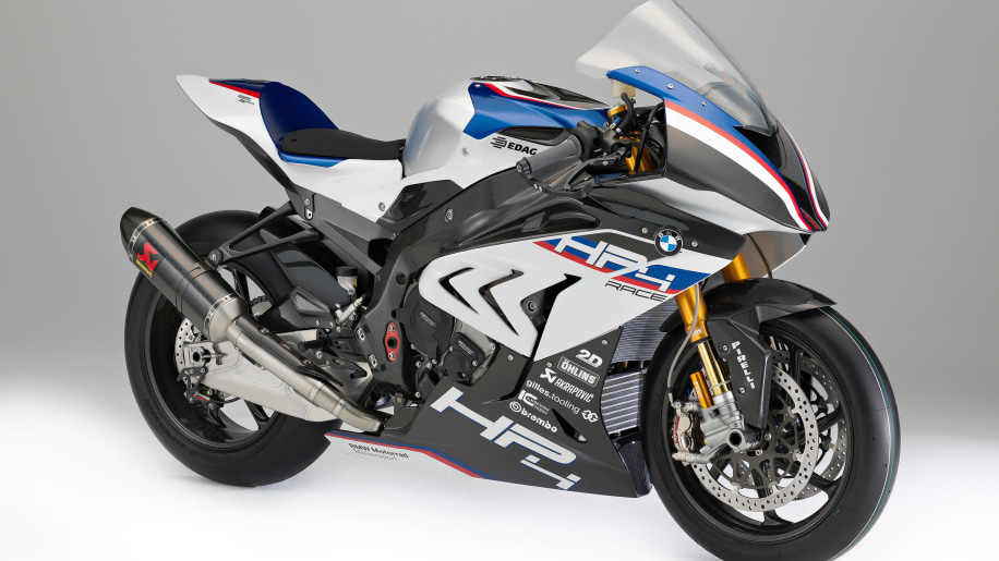 Bmw S Insane Hp4 Race Bike Has World Cup Powerplant And Carbon