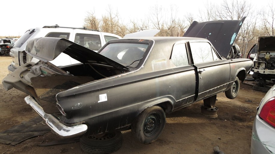 junked 1963 dodge dart in colorado photo gallery autoblog. Cars Review. Best American Auto & Cars Review