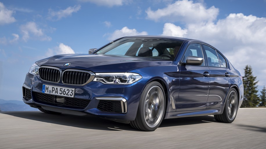 2018 Bmw M550i First Drive Powerful Otherwise Mediocre