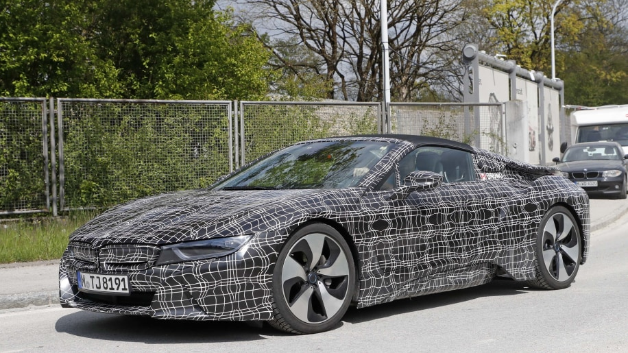 Bmw I8 Spyder On Track For 2019 Autoblog
