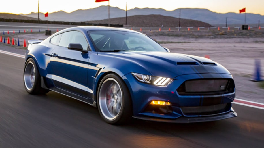 Shelby S Widebody Mustang Is A Concept But Its Super