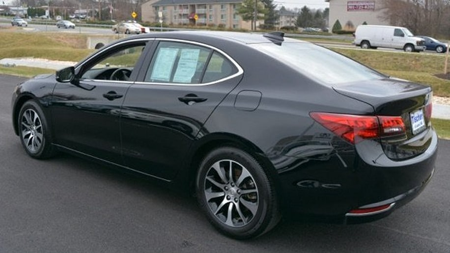 Acura TLX Certified Pre-Owned