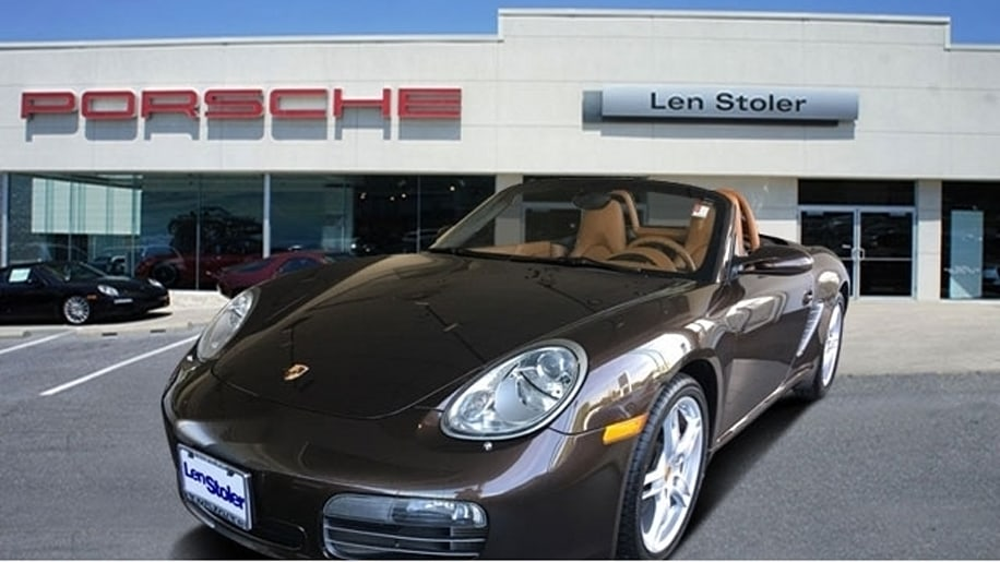 Porsche Boxster Certified Pre-Owned