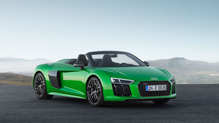 Audi R8 Spyder V10 Plus lead