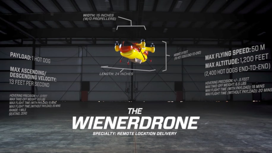 The Unmanned Wienerdrone