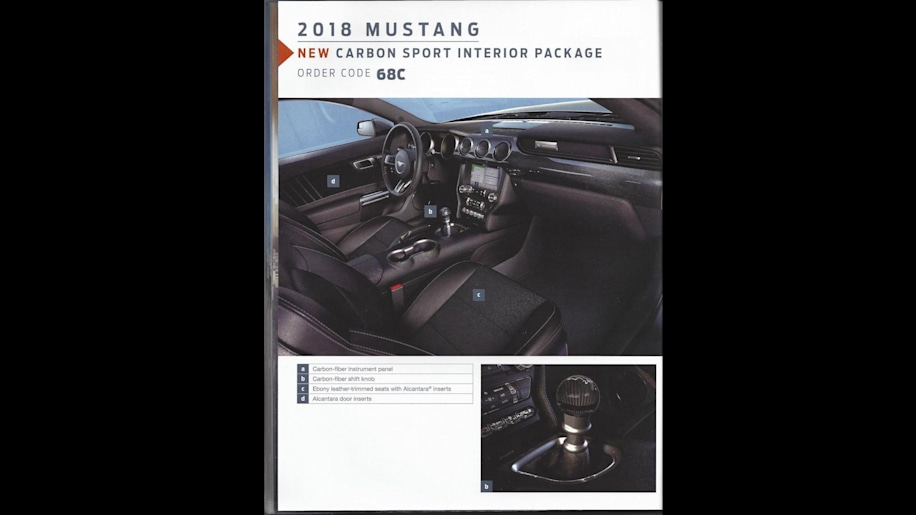 2018 ford other. plain 2018 2018 ford mustang order guide with ford other