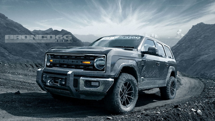 Ford Bronco 2020 4 Door >> 2020 Ford Bronco Rendered With Four Doors Autoblog