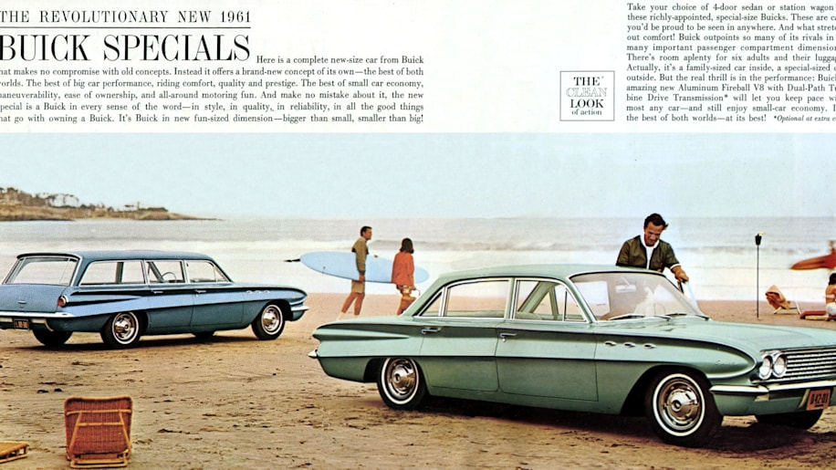 1961 Buick Special sedan and wagon