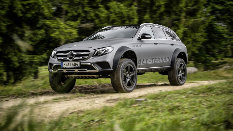 Mercedes E Class All Terrain 4x4 Squared Is The Wagon Of