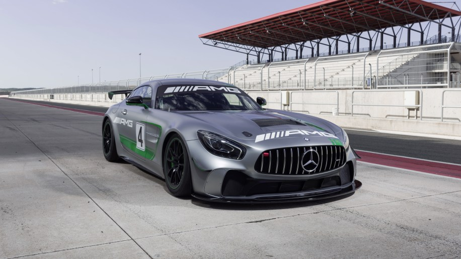 mercedes amg gt4 is your entry level world class racecar