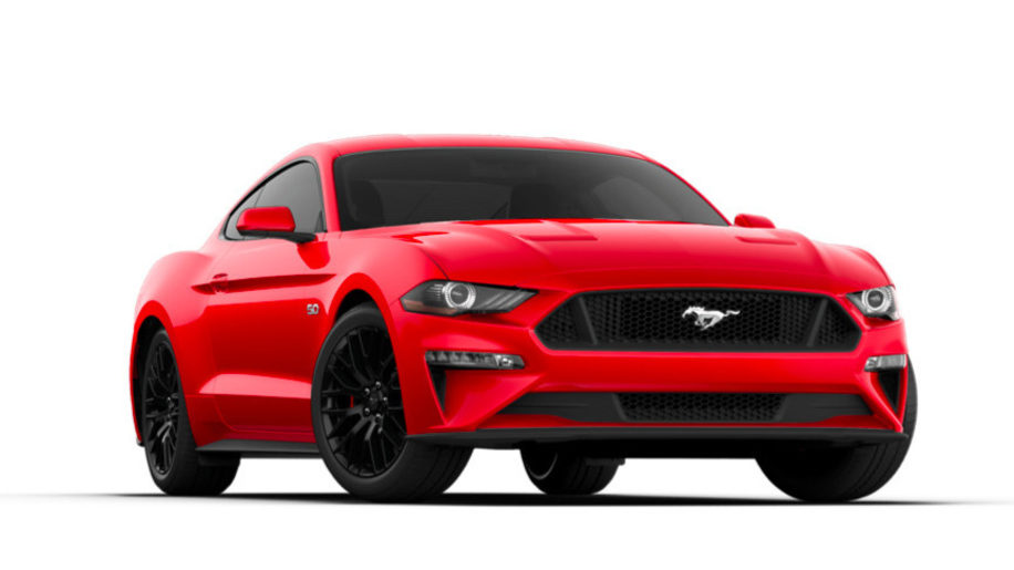 2018 Ford Mustang GT Coupe in race red