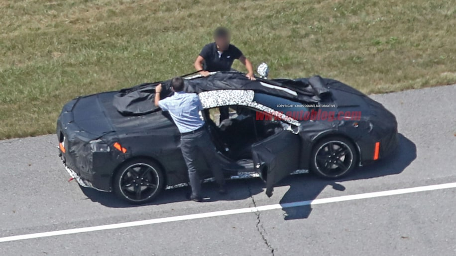 Latest Mid Engine Chevy Corvette Spy Shots Show More Than