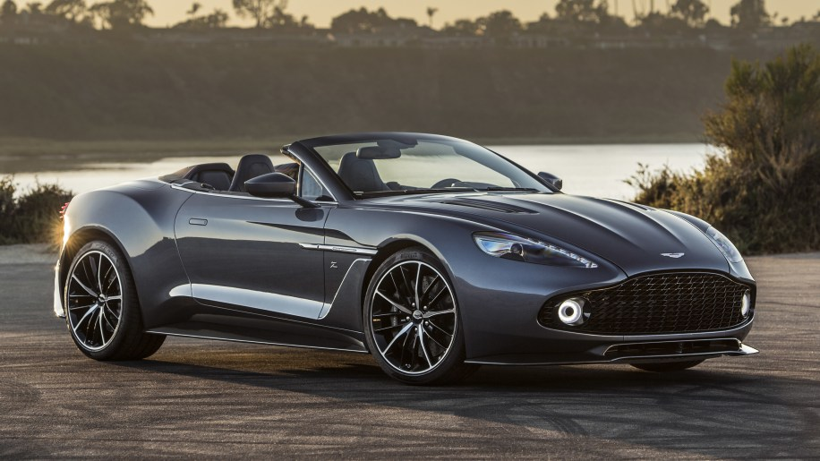 Aston Martin reveals Vanquish Zagato Sdster, confirms Shooting ...