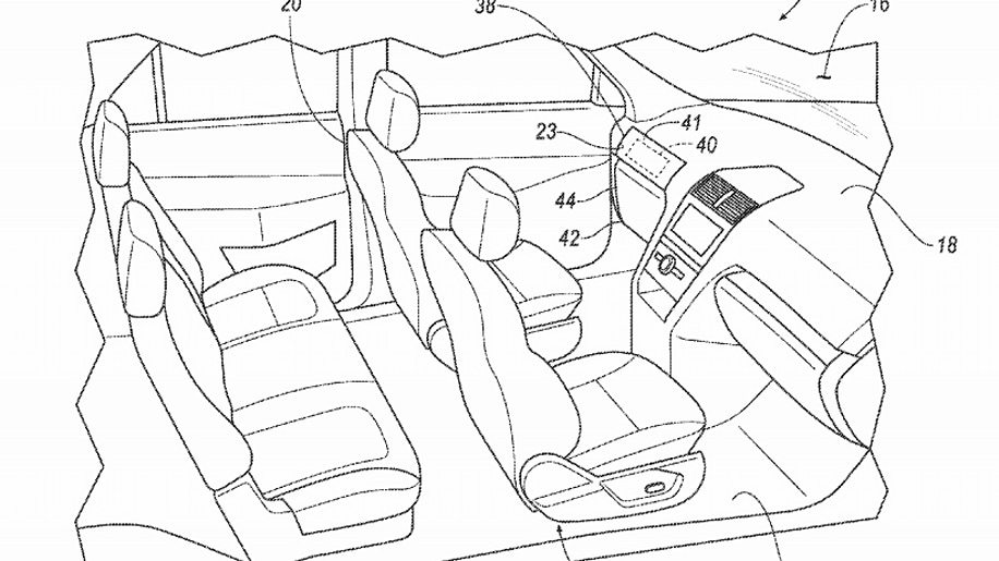 Ford patent shows autonomous cars with removable steering wheel and pedals
