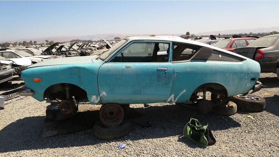 Gas Prices In California >> Junkyard Gem: 1974 Datsun B210 Fastback - Autoblog