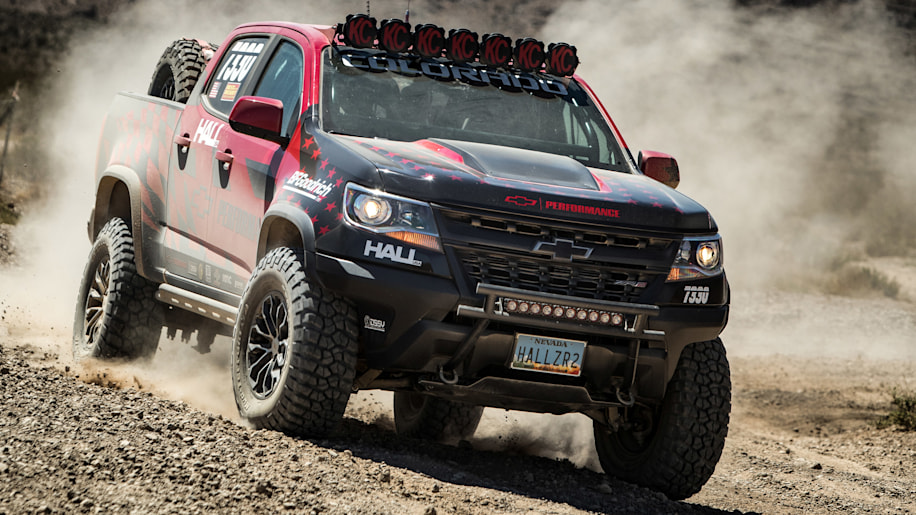 Chevy Colorado Pickup >> Mostly stock Chevy Colorado ZR2 will do Vegas to Reno with Hall Racing - Autoblog
