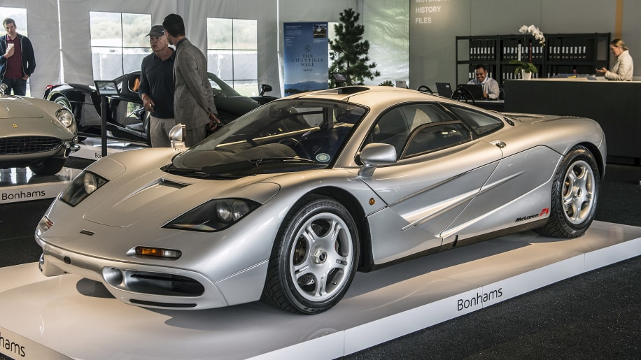 McLaren F1 sells for $15.62 million at Bonhams auction