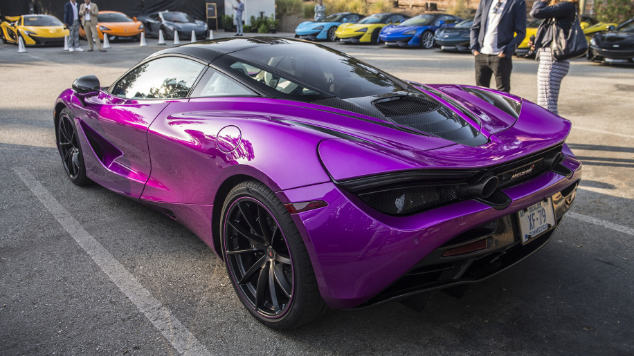 Witness The Only Fux Fuchsia Mclaren 720s In Existence