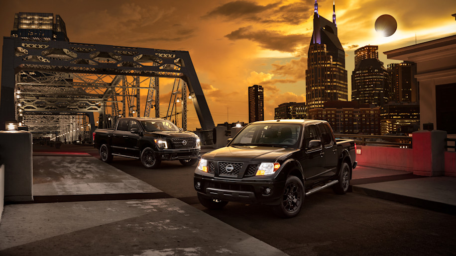 Nissan Titan & Frontier Melts Into The Dark