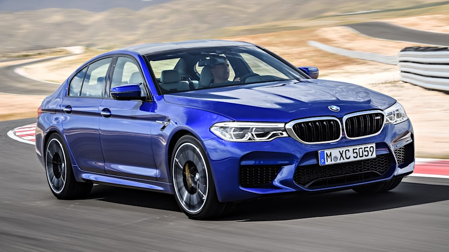 2018 bmw m5 makes its official debut with 600 horsepower autoblog. Black Bedroom Furniture Sets. Home Design Ideas