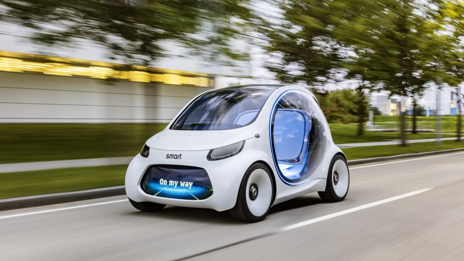 Smart Vision EQ ForTwo Concept May be the Future of Car Sharing
