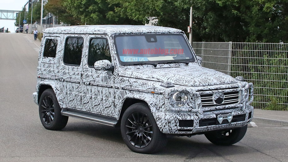 Spy shots show how the new mercedes g wagen is coming for How much is a mercedes benz g63