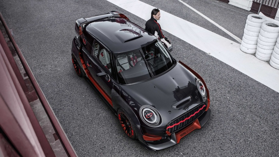 MINI John Cooper Works GP concept is ready for the track