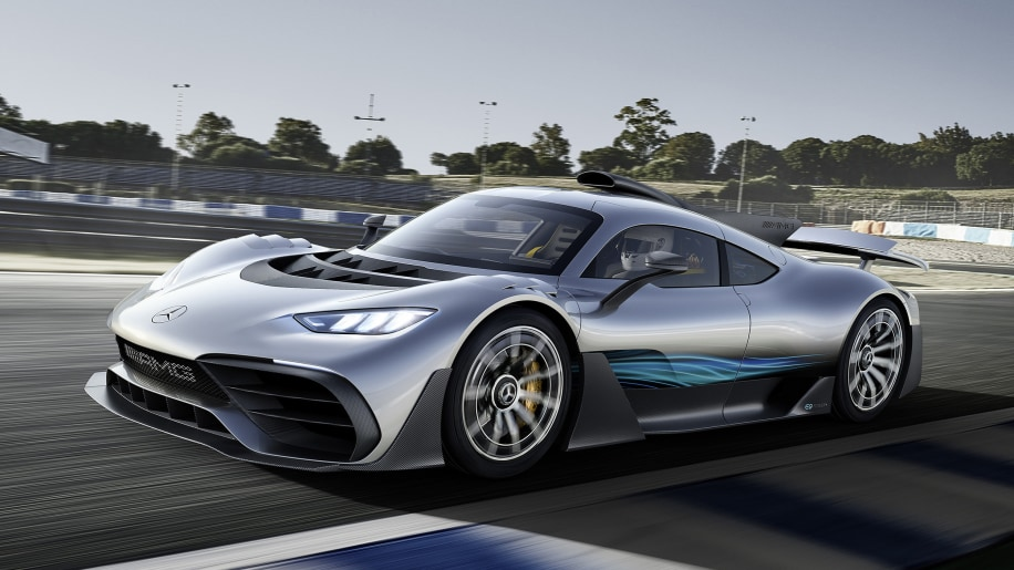 Mercedes 1000 bhp hypercar - an F1 auto  for the road!
