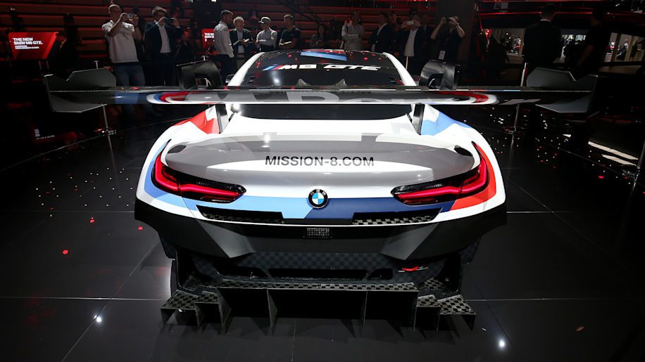 bmw returning to le mans in 2018 with the m8 gte autoblog. Black Bedroom Furniture Sets. Home Design Ideas