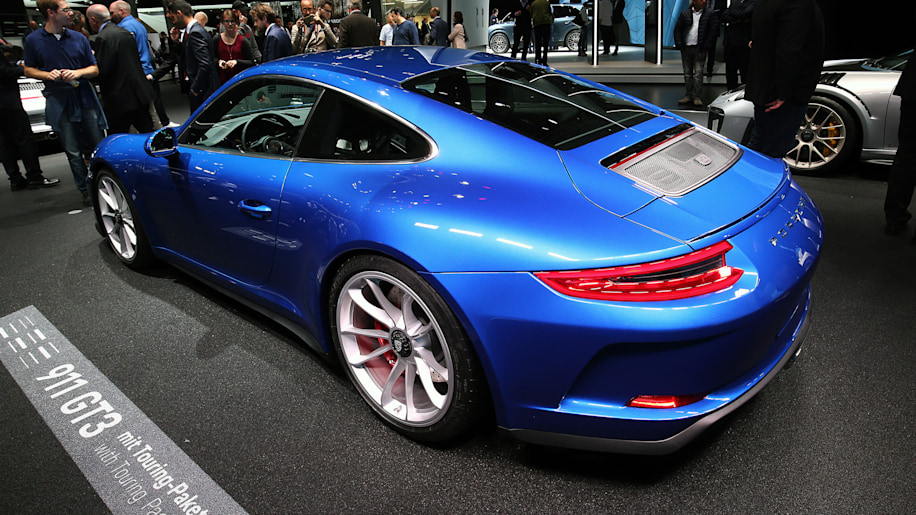 Porsche 911 Gt3 Touring Package Revealed Ahead Of