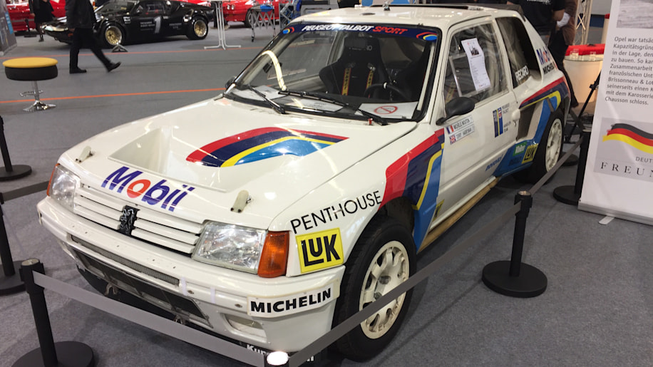 Peugeot 205 Turbo 16 rally car