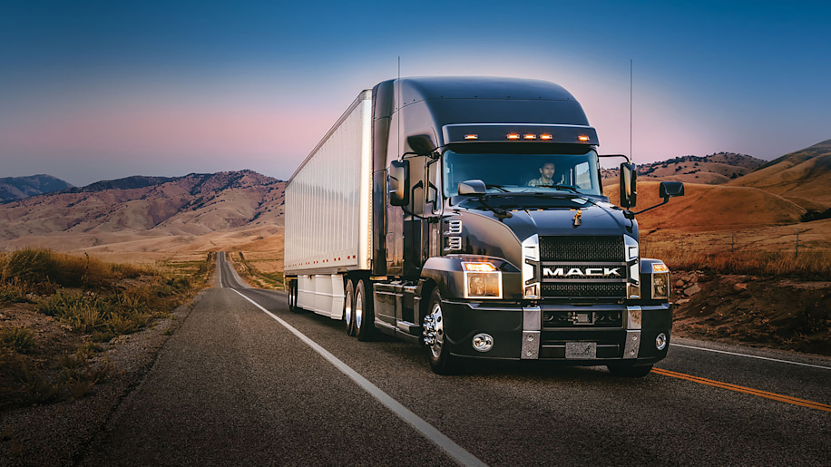 All New Mack Anthem Is The Future Of Traditional Big Rigs