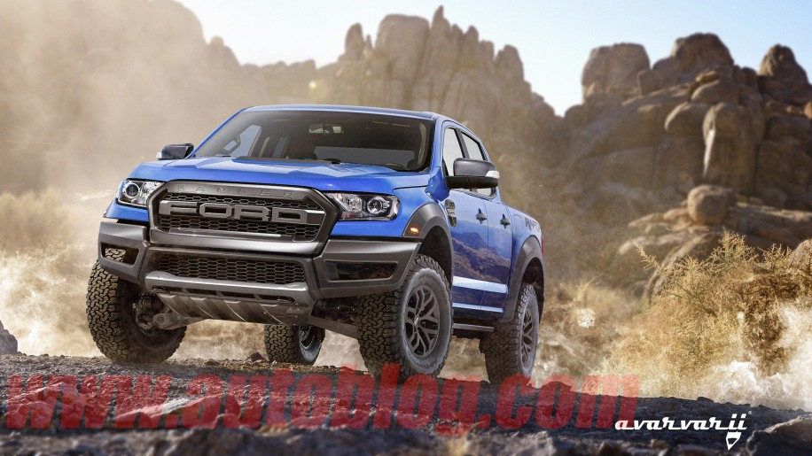 2019 Dodge Trucks >> The Ford Ranger Raptor is real, and this is what it might look like - Autoblog