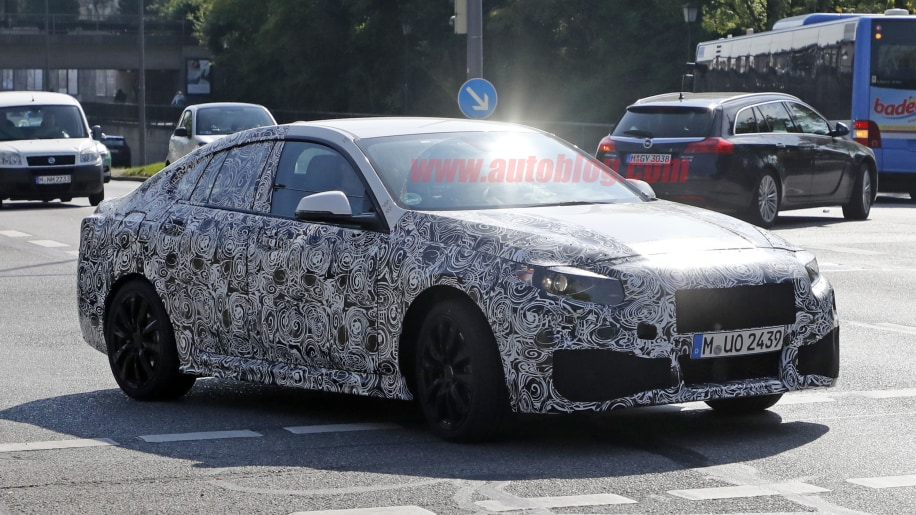 Spy Shots Provide First Look At BMW Series Gran Coupe Autoblog - Bmw 2 series release date