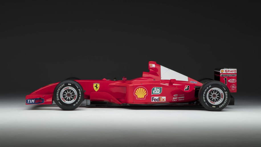 Michael Schumachers Formula Race Car Sells For - Cool cars made in 2001