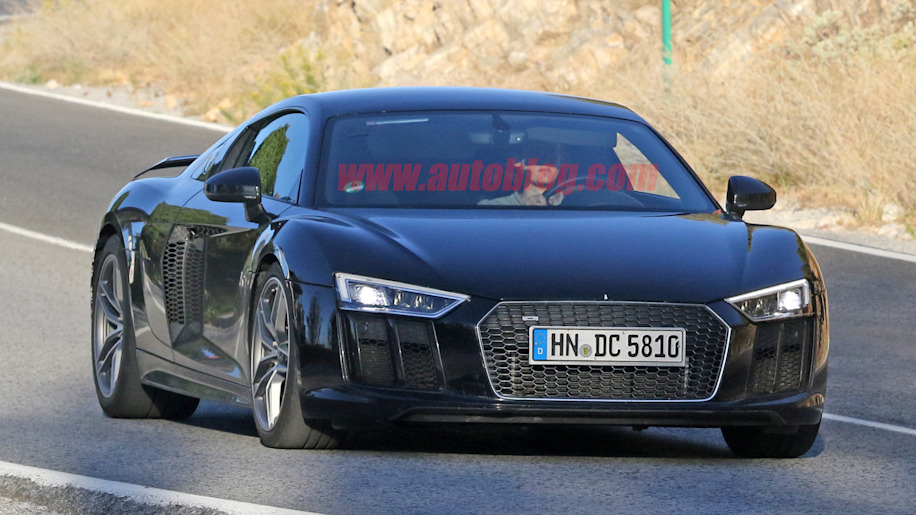 high performance audi r8 prototype could be new r8 gt autoblog. Black Bedroom Furniture Sets. Home Design Ideas
