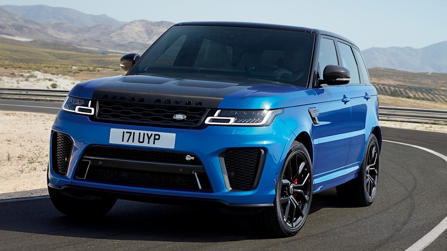 refreshed range rover sport brings plug in hybrid version more powerful svr autoblog. Black Bedroom Furniture Sets. Home Design Ideas
