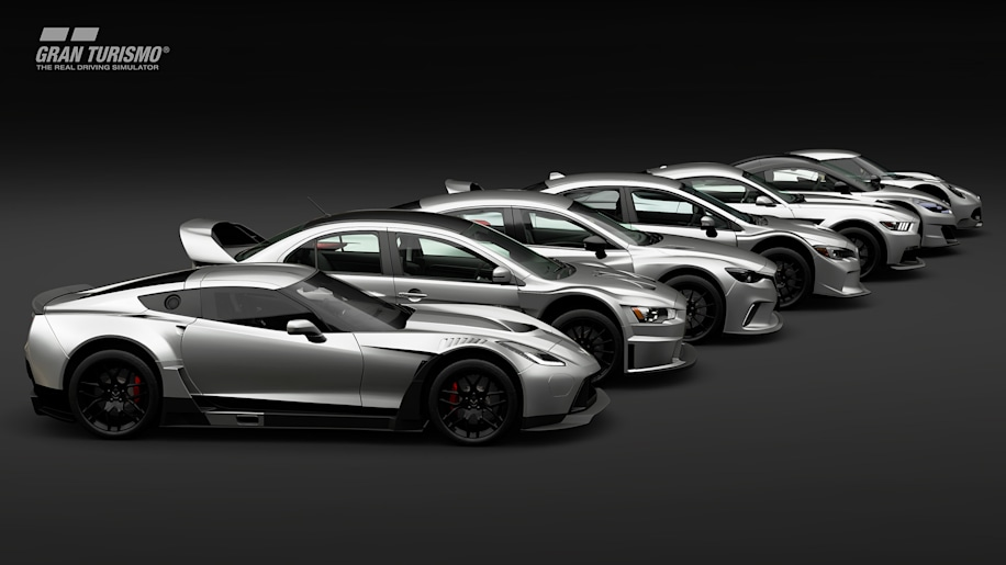 Here Are All Cars In Gran Turismo Sport Autoblog - All cars