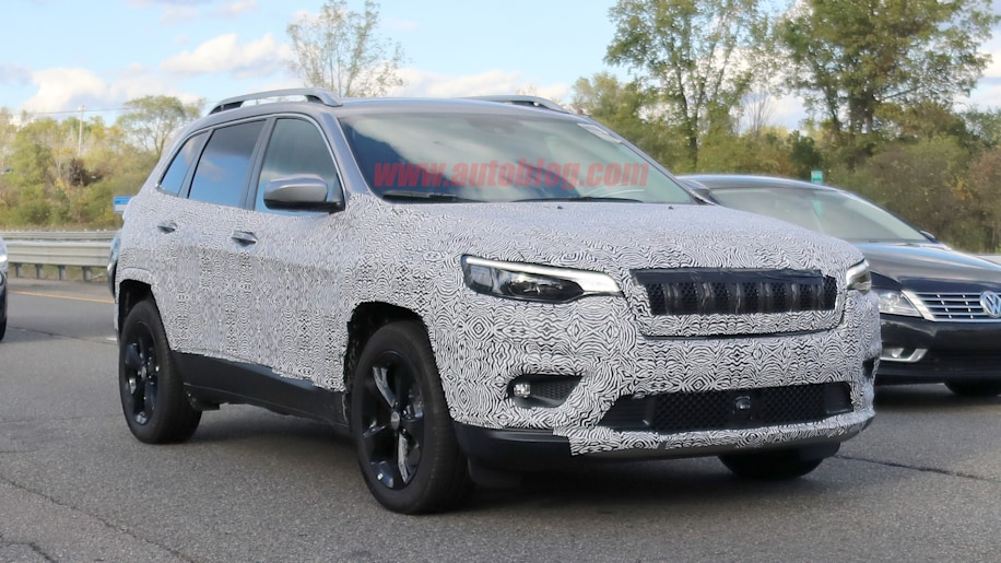 2019 Jeep Cherokee Reveals A Much More Normal Face Autoblog
