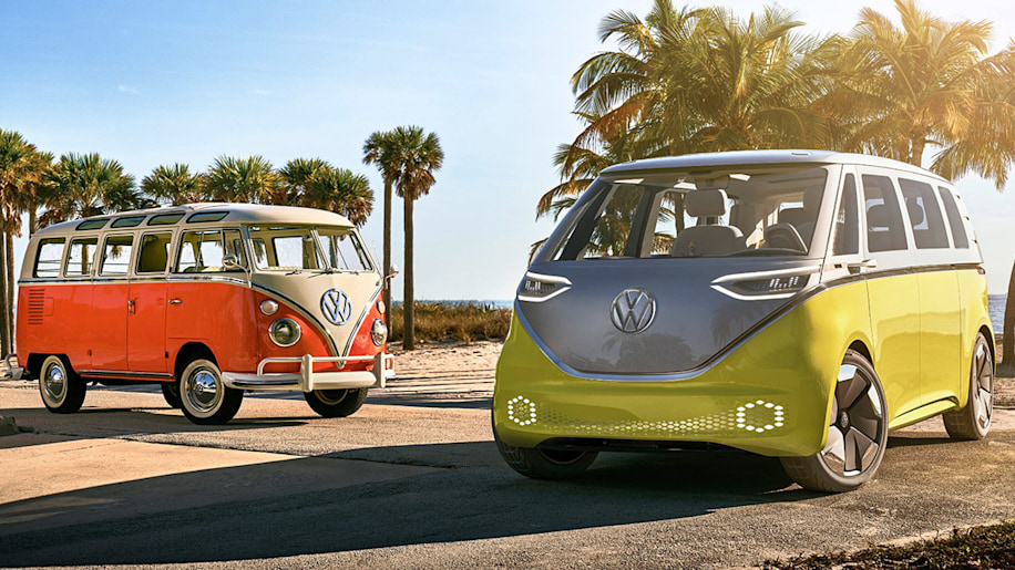 VW bus and I.D. Buzz