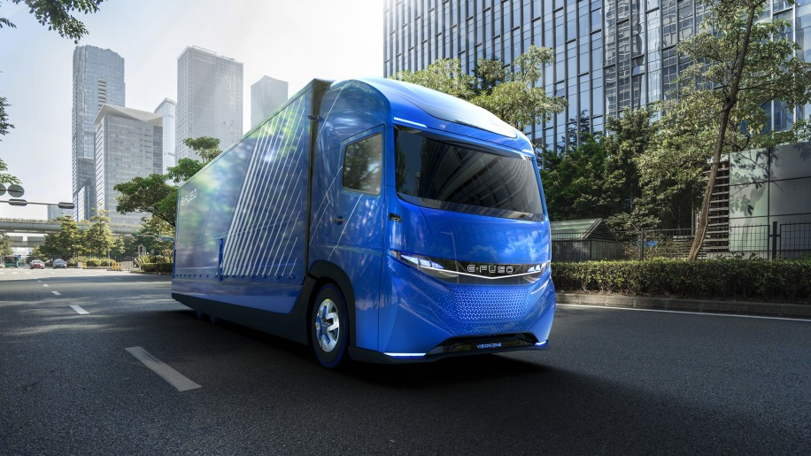 Daimler shows off an electric truck ahead of Tesla