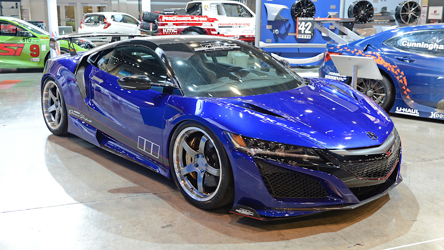 acura nsx scienceofspeed dream project brings another wing to sema autoblog. Black Bedroom Furniture Sets. Home Design Ideas
