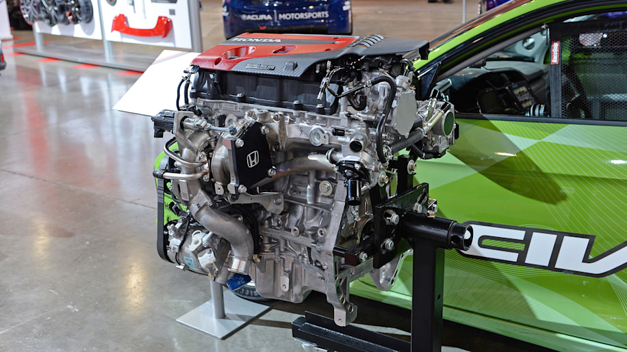 Honda civic type r k20c1 turbocharged crate engine debuts for Civic type r motor