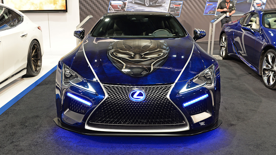 rc car gas with Lexus Black Panther Inspired Lc Concept Sema 2017 on Watch moreover Mammuth Works Rewarron Rc Trophy Truck also Products as well Lexus Black Panther Inspired Lc Concept Sema 2017 in addition 7452.