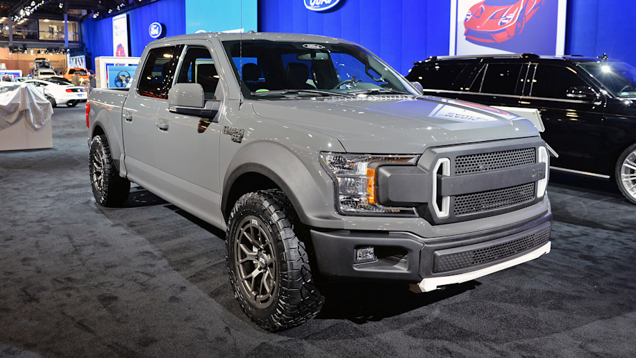 2018 ford f 150 rtr muscle truck concept sema 2017 photo. Black Bedroom Furniture Sets. Home Design Ideas
