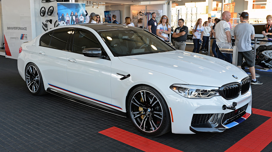 2018 Bmw M5 Gets Invited To Sema Thanks To New M Performance Parts Autoblog