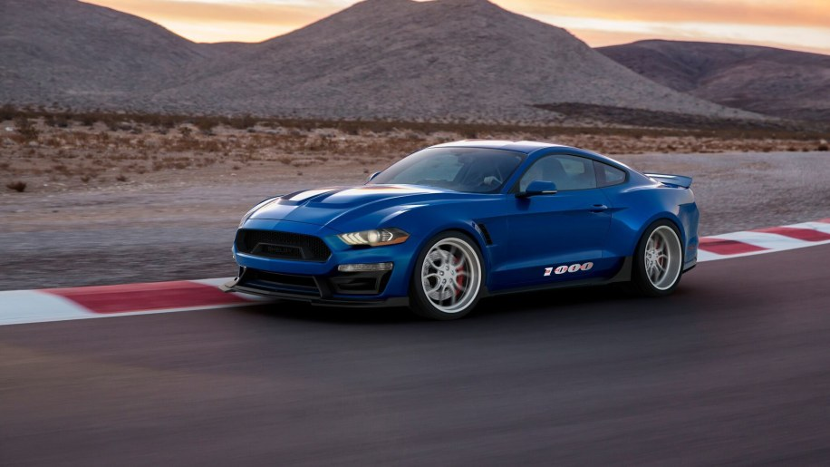 Shelby 1000 is a Ford Mustang born and bred for the track