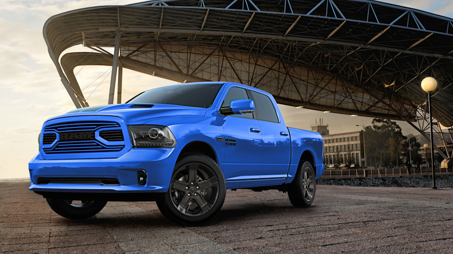 Ram 1500 Hydro Blue Sport Special Edition Offered