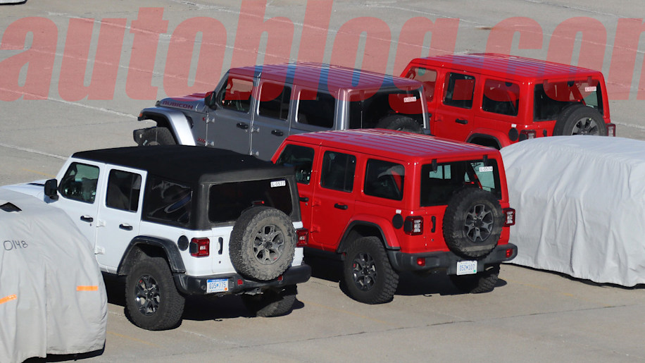 <br /> 2018 Jeep JL Wrangler spy shot mega gallery